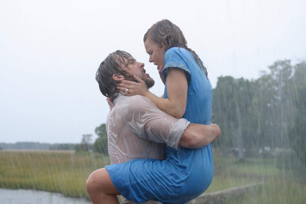 The Notebook Rain Scene From De Luxe Banquet Hall