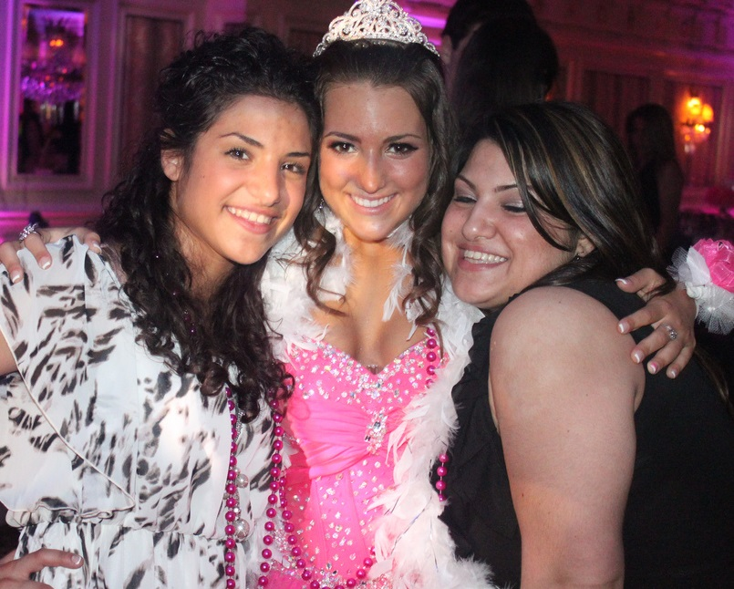 Best Friends at a Sweet 16 Party - De Luxe Banquet Hall
