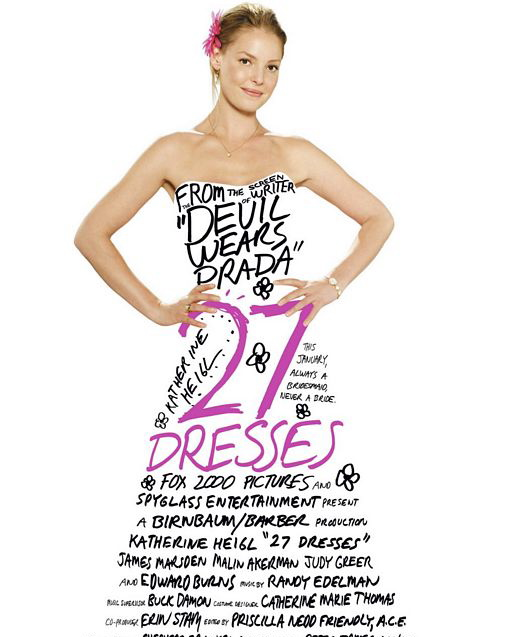 27 Dresses - wedding movies