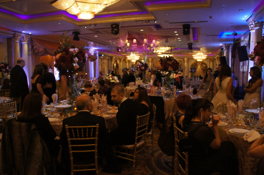 De Luxe Banquet Hall During a Corporate Event