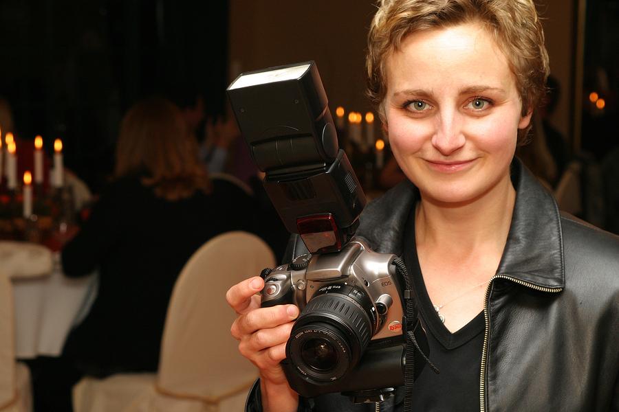 Wedding photographer at De Luxe Banquet Hall