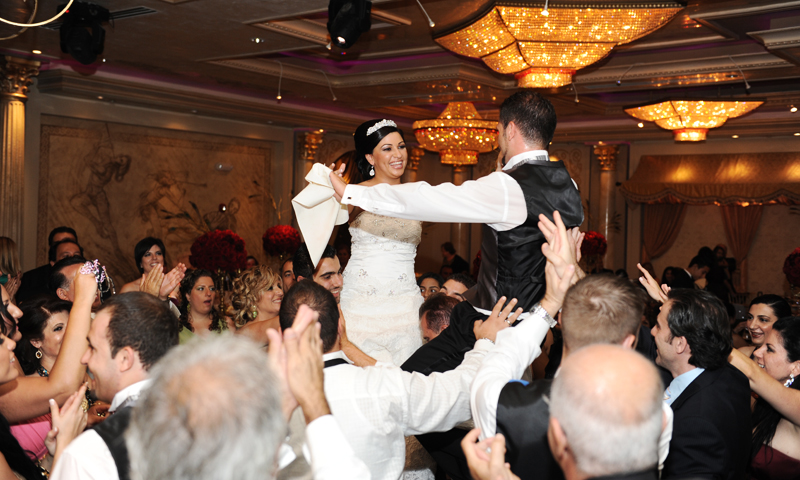 A Wedding Reception Dance at De Luxe Banquet Hall