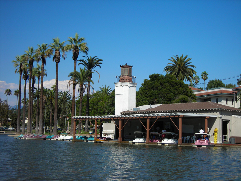 Echo Park Lake Boathouse