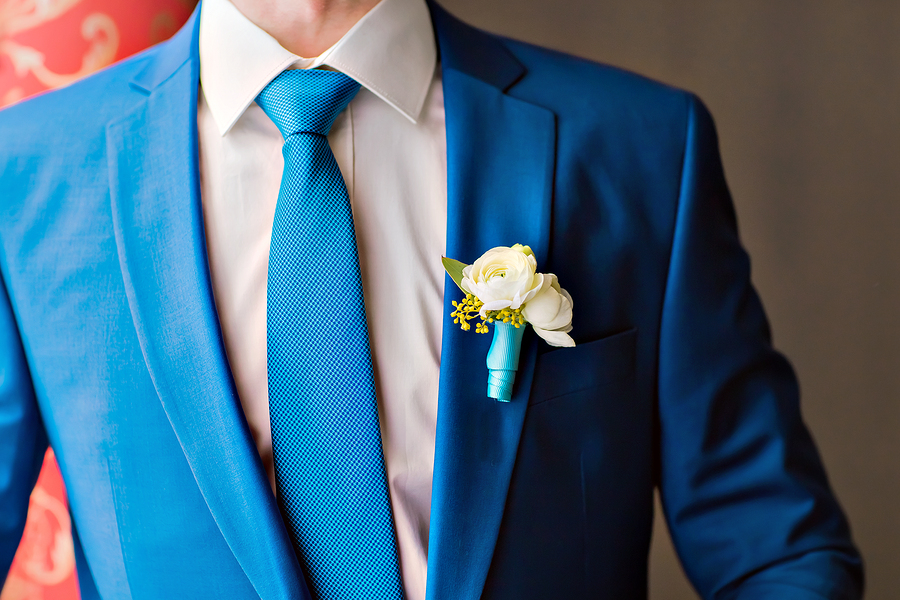 Wedding Suit Infographic from De Luxe Banquet Hall