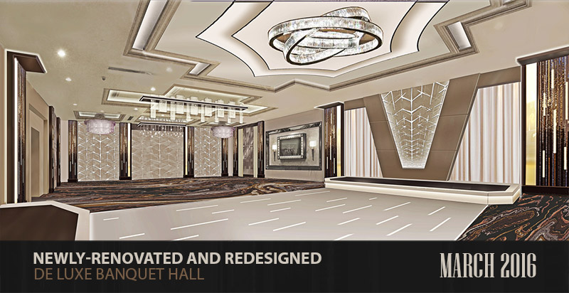 Renovated De Luxe Banquet Hall