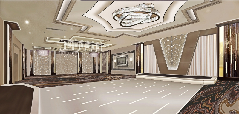 The Brand New De Luxe Ballroom! (Artist Rendering)