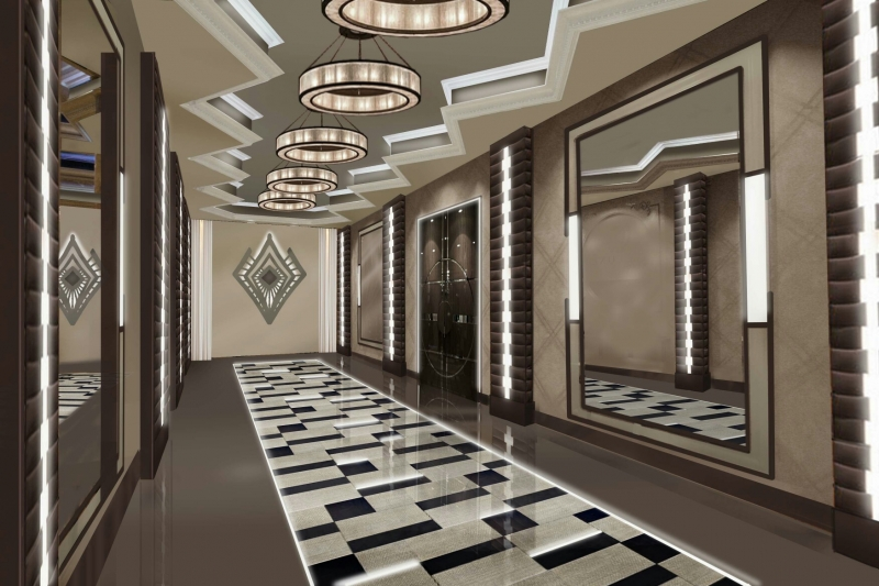 Guests Will Now Enter Through De Luxe's Redesigned Foyer (Artist Rendering)