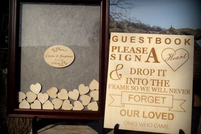 Shadowbox with Hearts