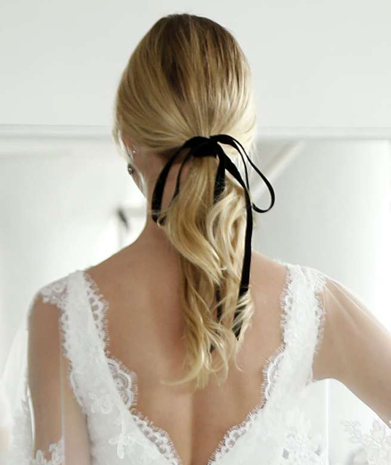 Znalezione obrazy dla zapytania wedding hair 2018