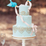 Birds Decorating Wedding Cake Topper