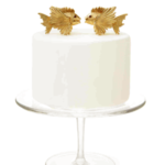 Two Fish Wedding Cake Topper