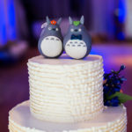 Two Penguins Wedding Cake Topper