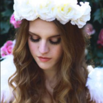 white-flower-crown