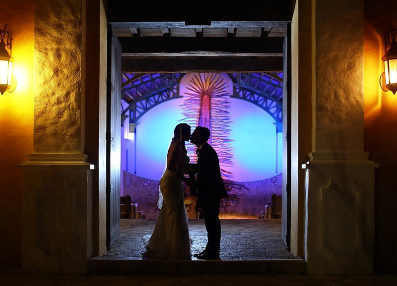 Romantic Wedding Entrance
