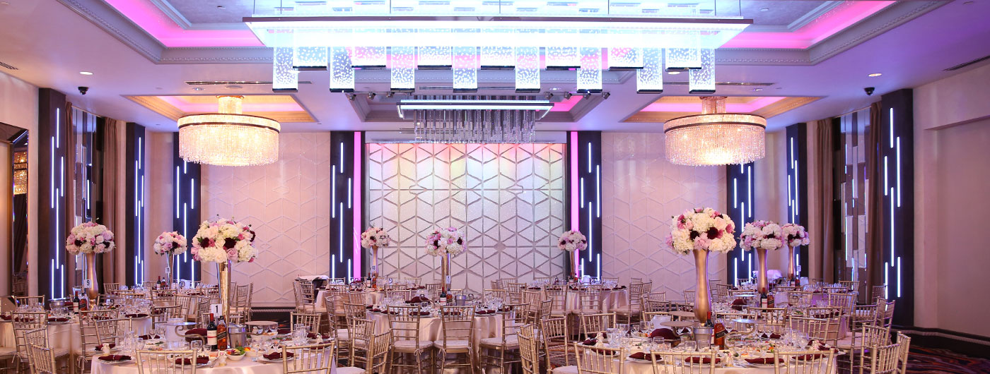 De Luxe Banquet Hall In Los Angeles - Three Adjacent Event Venues