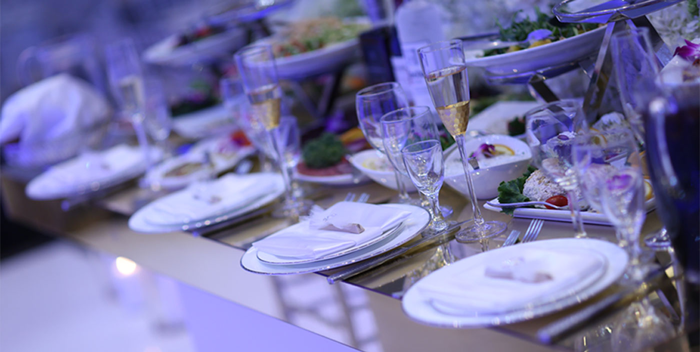 Catering at De Luxe Banquet Hall