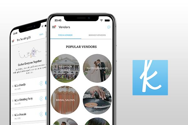 the knot wedding planner - best wedding apps