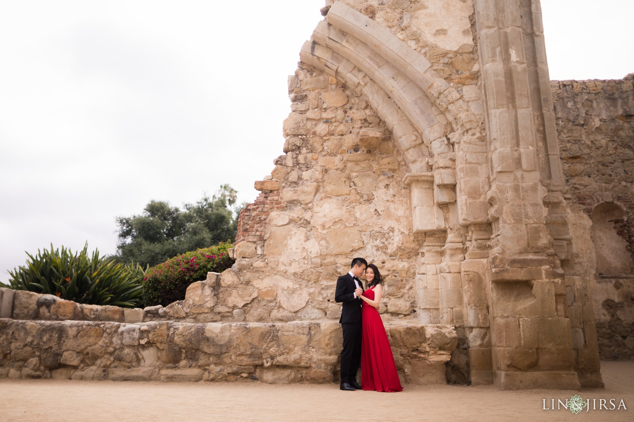 Mission San Juan Capistrano - engagement photo locations