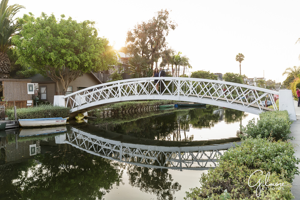 Venice Canals - engagement photo locations