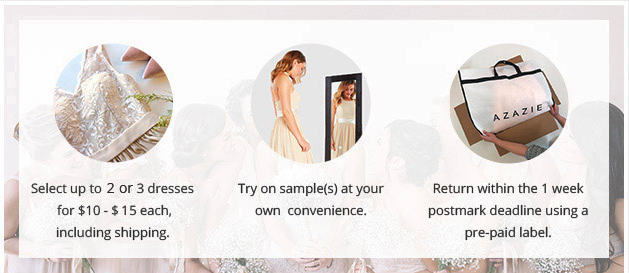 convenience - wedding dress shopping