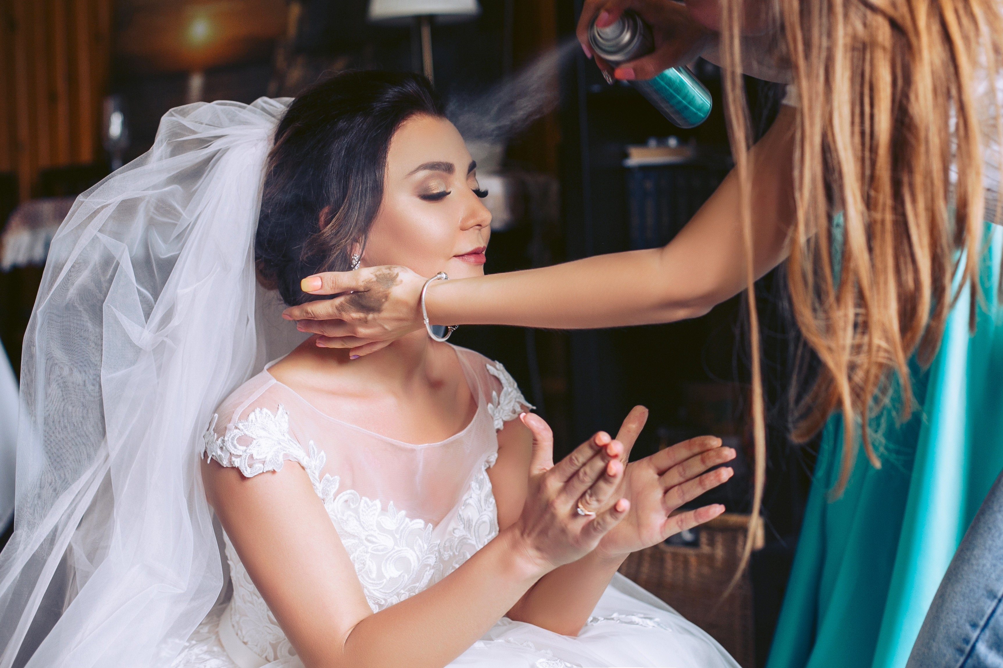 hairspray - wedding day emergency kit