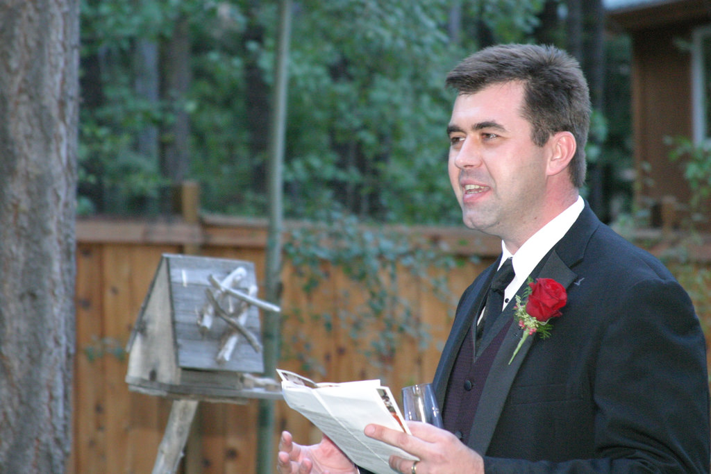 avoid talking about yourself too much - best man speech