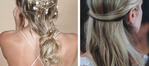 2019 Bridal Hair Trends - Long Half Up Styles