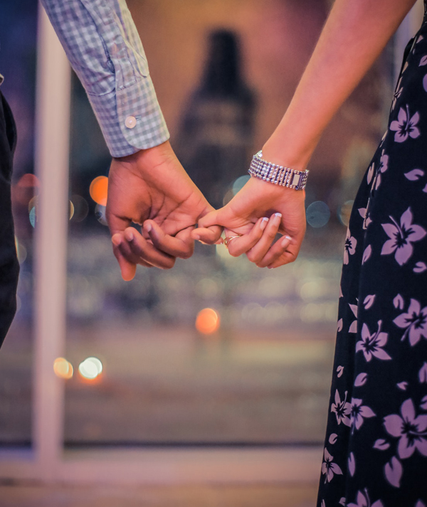 Wedding Guest Questions - Couple Holding Hands