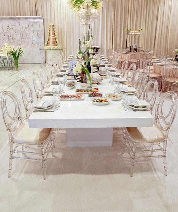Wedding Guest Questions - De Luxe Banquet Hall Tables
