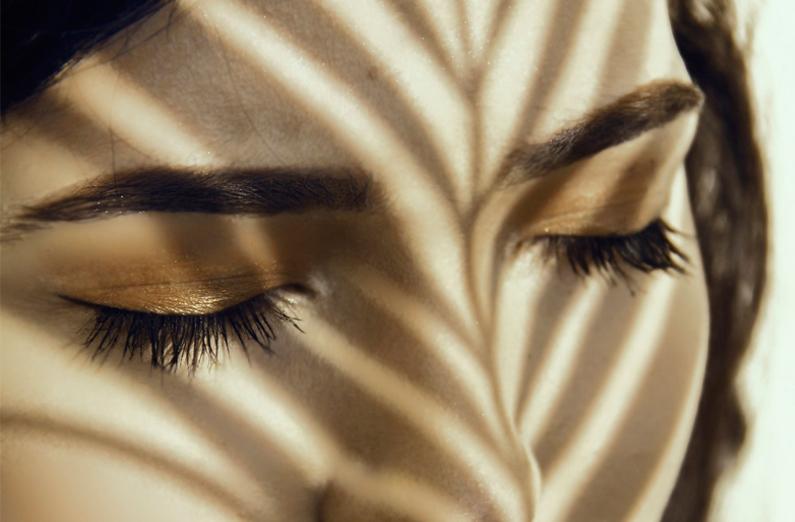 Wedding Makeup - Woman With Eye Makeup On