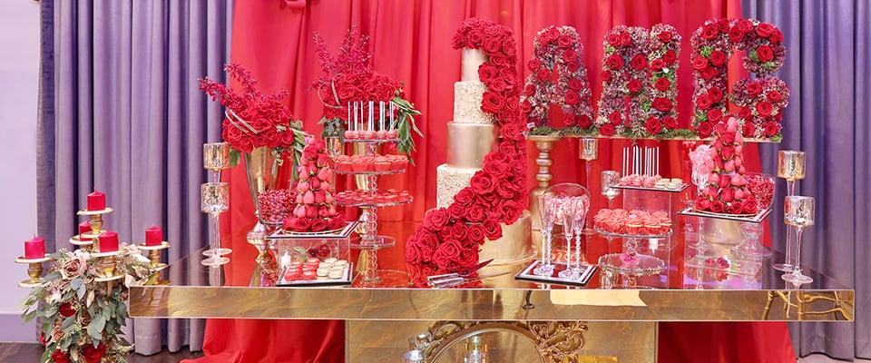 Olivia Event Venue - Customize Venue